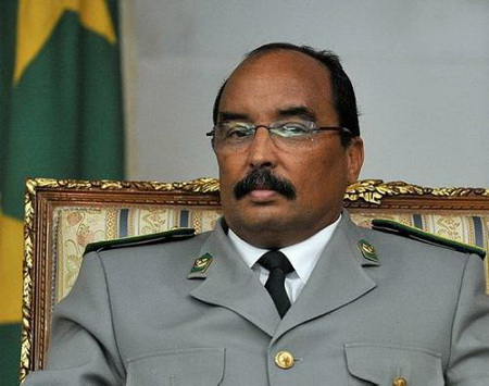 Мавритания-президент-Азиз
