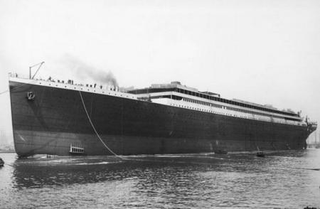 Спуск Титаника на воду