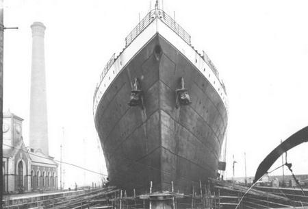И вот Титаник готов