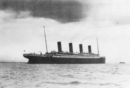 последняя фотография Титаника