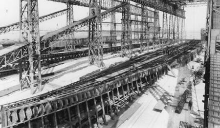 киля Титаника