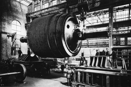 турбинный ротор Титаника.