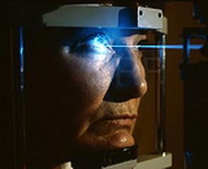 Лазерный глазной протез