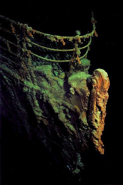 остов Титаника
