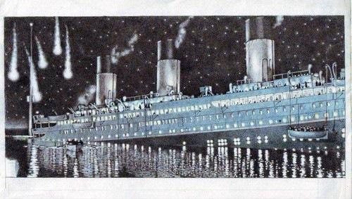 салют на Титанике