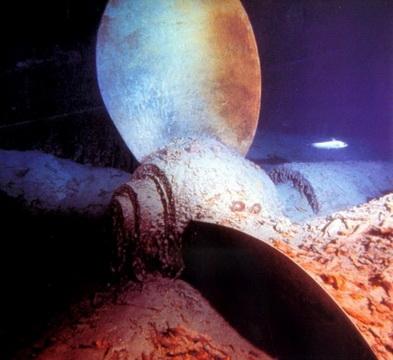 винт Титаника