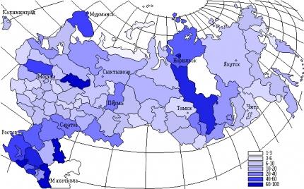 вода в России