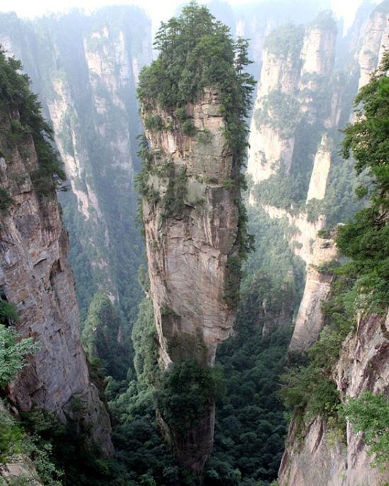 Горы Тяньцзу, Китай