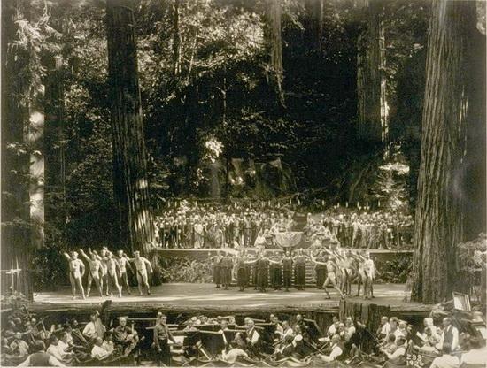 Богемская роща 1926 г