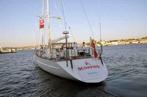 Яхта «Скорпиус»