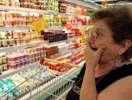 повышение цен на еду
