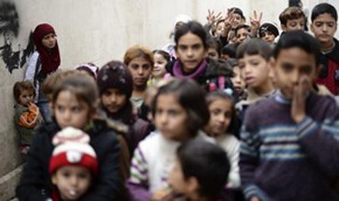 сирия-дети