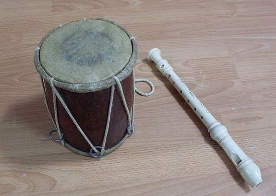 флейта и барабан