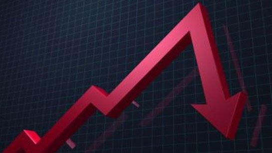 падение промпроизводства в России