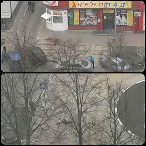 Стрельба на улицах Белгорода
