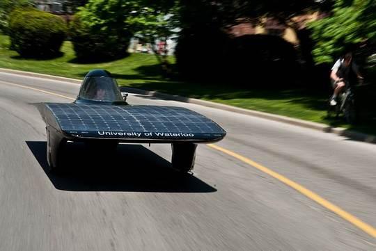 автомобили_солнечные батареи