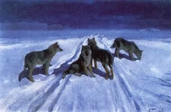 волки__