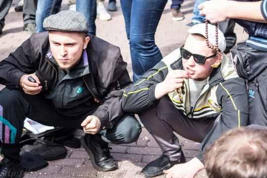 гоп-парад в Киеве
