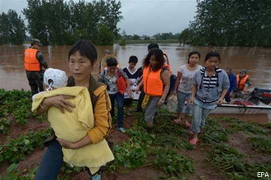 Китай_наводнение