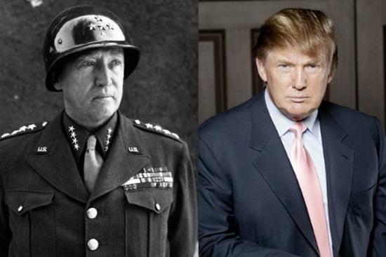 Генерал Джордж Паттон_Дональд Трамп