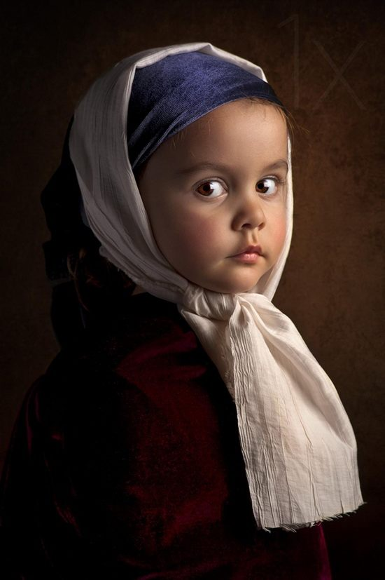 Девочка без сережек. Bill Gekas