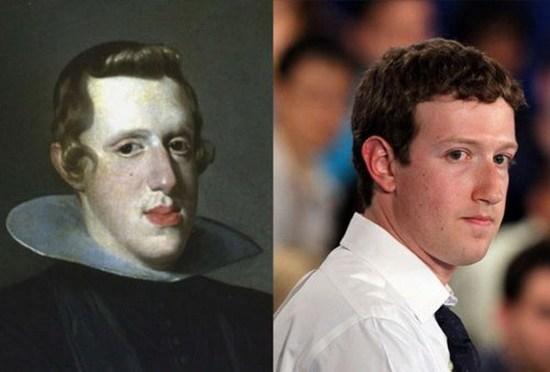Король Испании Филипп IV _ Марк Цукерберг