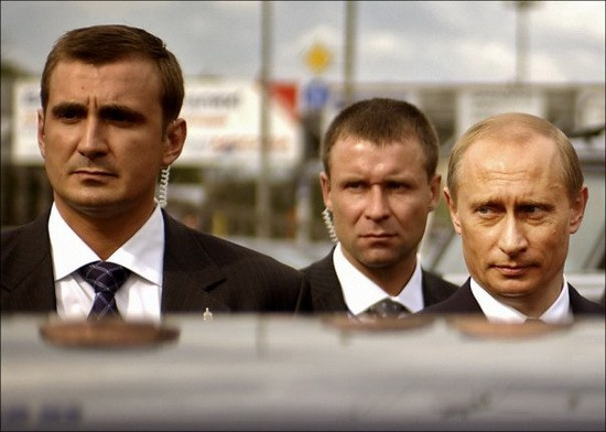 Путин_охрана