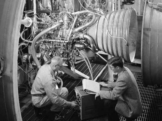 Ракетный двигатель НАСА