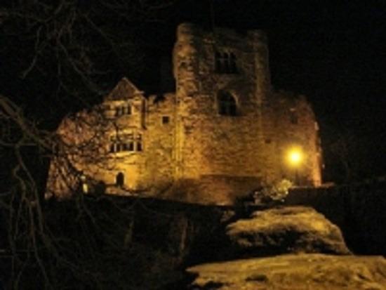 Тамуэртский замок в Стаффордшире, Англия