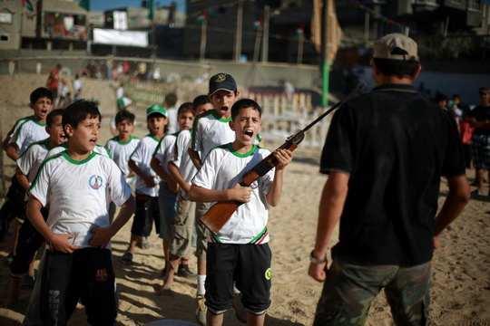 детские лагеря_ХАМАС