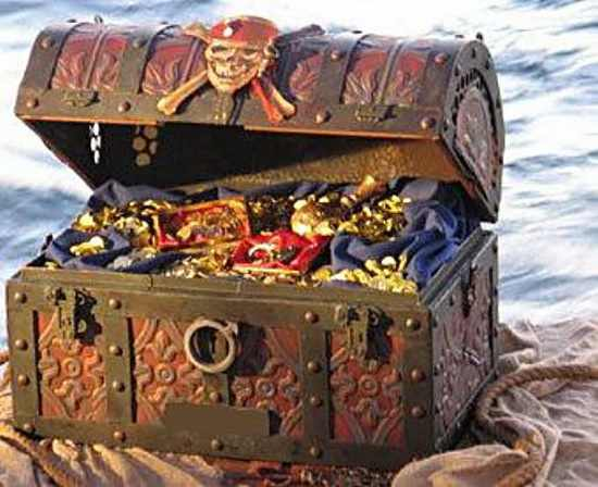 клад на острове Робинзона Крузо