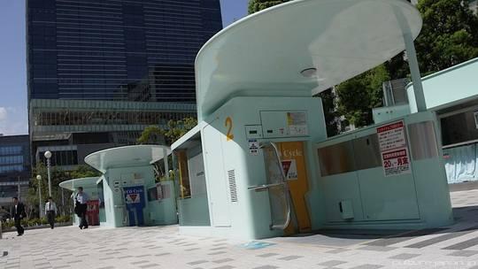 подземные велопарковки_Япония