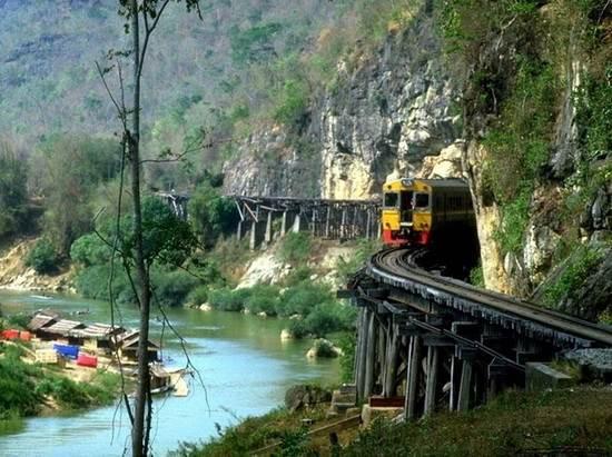 The Death Railway. Таиланд