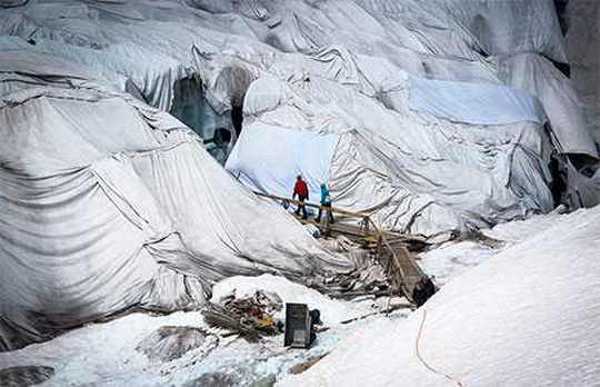 Швейцария_ледник