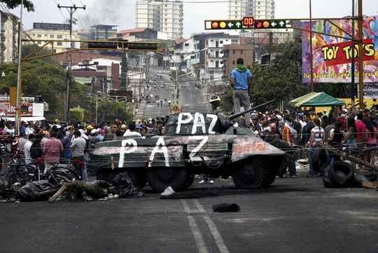 Венесуэла_протесты