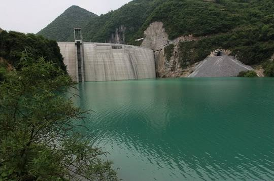 китай_водохранилище