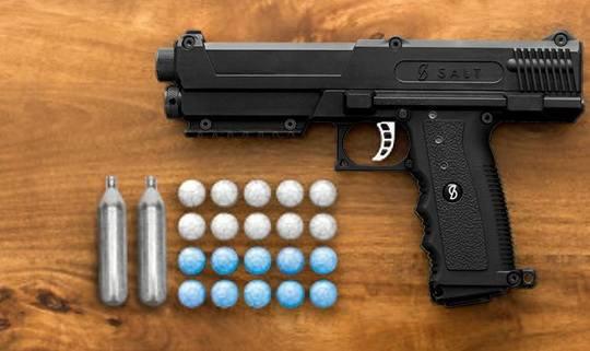 Salt+нелетальный пистолет