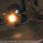 Компания Magic Leap показала Солнечную систему дополненной реальности