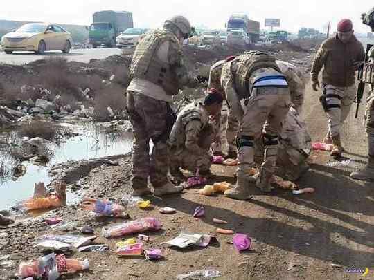 Ирак_ИГИЛ+детские_игрушки
