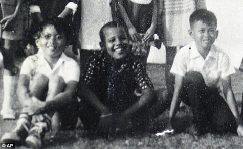 Обама+детство
