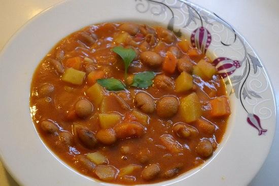 фасоль_томат_овощи