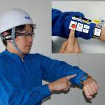 ARmKeypad: умный браслет с экраном от NEC