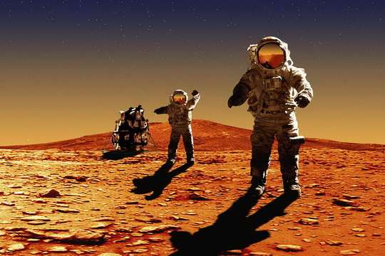 NASA+полёт+на+марс