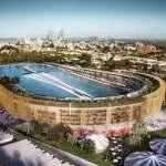 В Австралии перестроят футбольный стадион в многофункциональный комплекс с бассейном, квартирами и парком