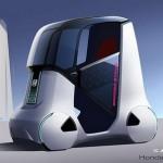 Honda Wander Stand: концепт туристического прогулочного автомобиля