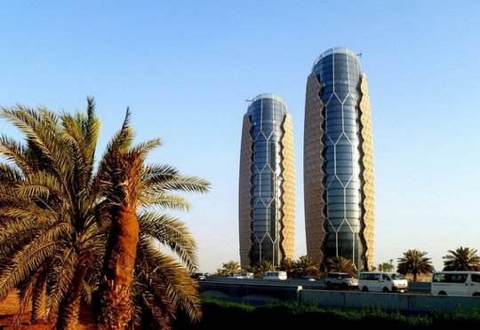Башни_Аль_Бахар-в-Абу-Даби