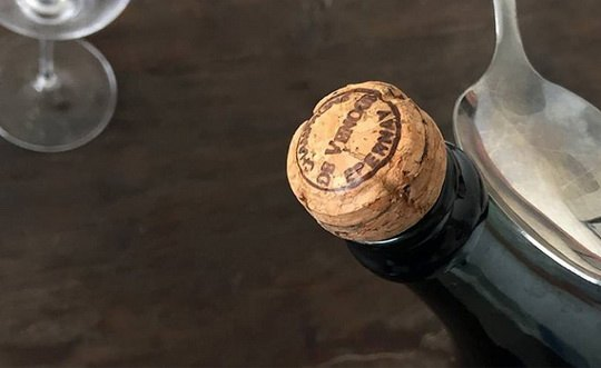 шампанское+ложка