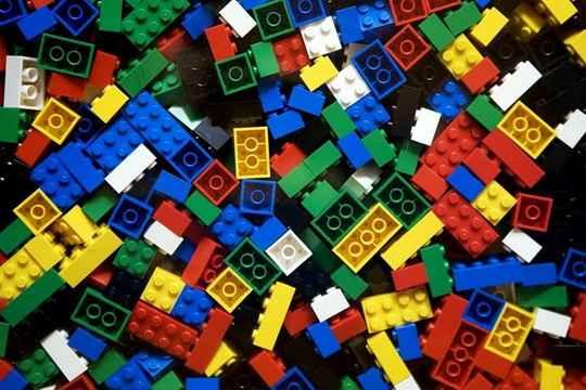 LEGO+конструктор+сооружения