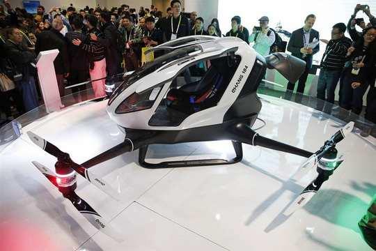 Ehang_184+концепт+пассажирский-дрон+технологии