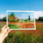 Елена Ефремова: акварель в реальном пейзаже